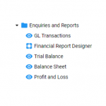New Feature – Version 5 General Ledger Report Designer and Apps